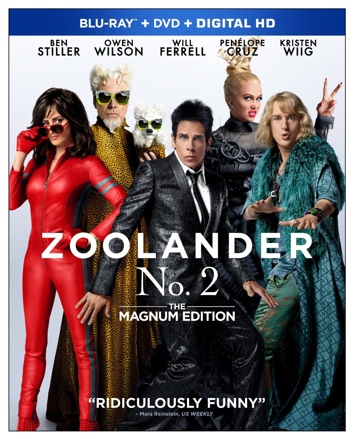 Zoolander 2 on Blu Ray and DVD