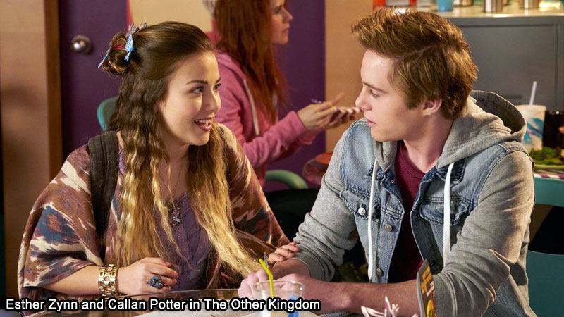 Esther Zynn and Callan Potter in The Other Kingdom