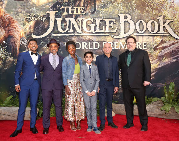 The Jungle Book word premiere