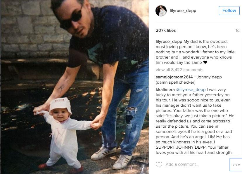 Lily-Rose Depp Instagram