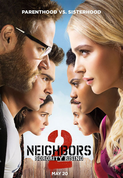 Neighbors 2 Sorority Rising poster