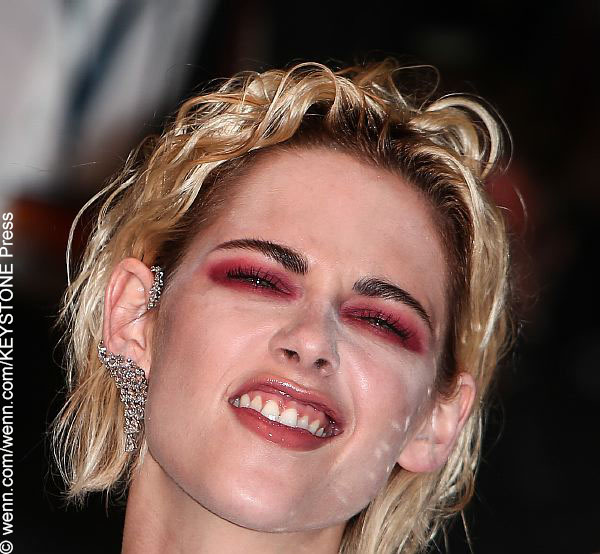 Kristen Stewart on the red carpet at the Cannes Film Festival
