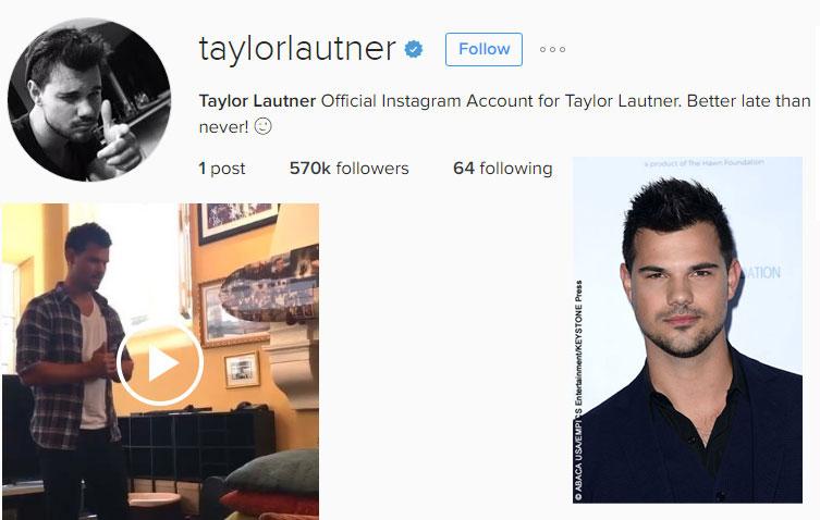 Taylor Lautner offers ... Adam Sandler Movies