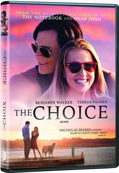 The Choice on DVD and Blu-ray