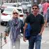 *EXCLUSIVE* Dennis Quaid and wife Kimberly spend the afternoon in Venice