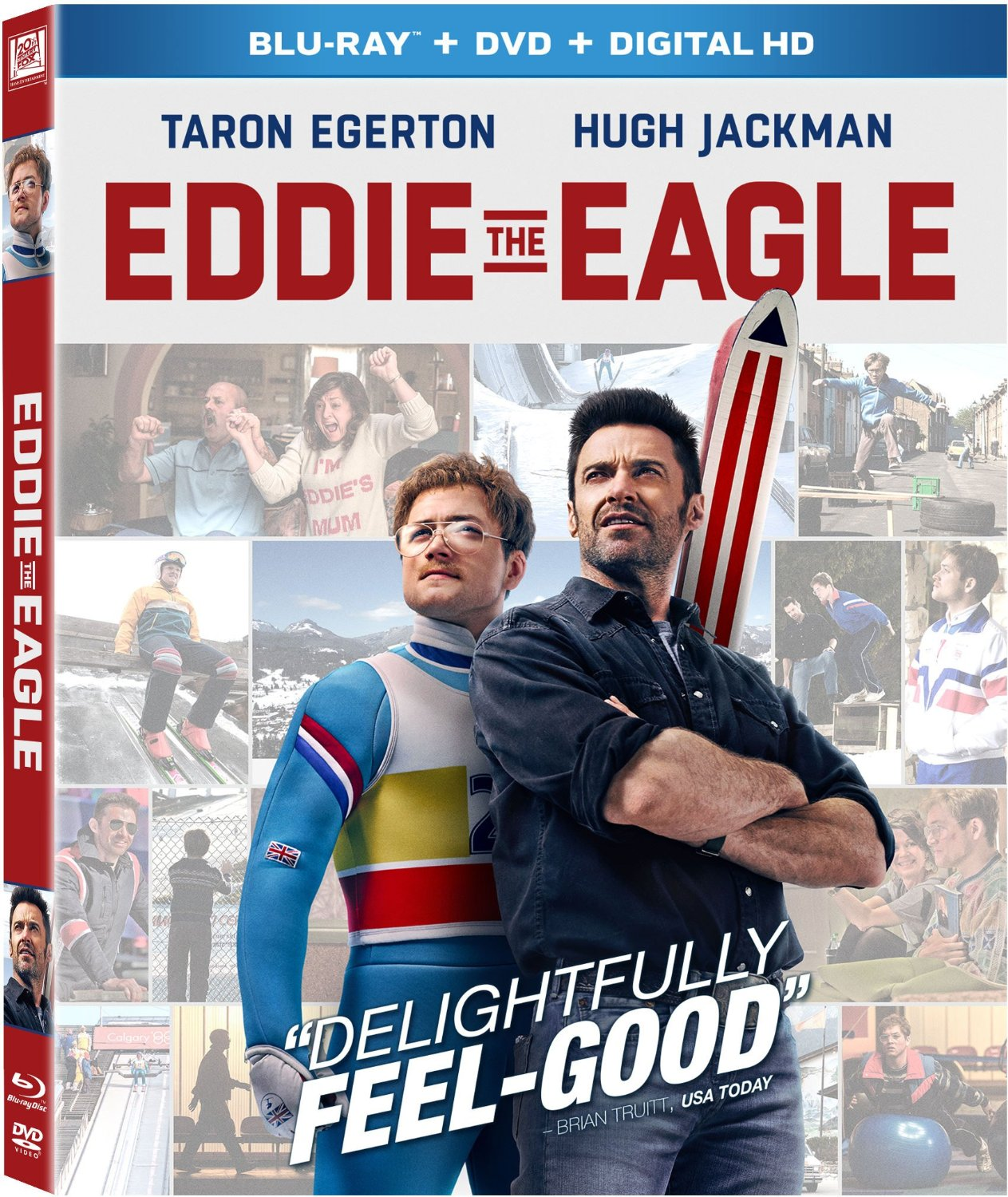 Eddie the Eagle Blu-Ray cover