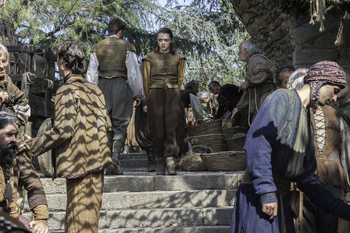 "Maisie Williams in Game of Thrones ""The Broken Man"""