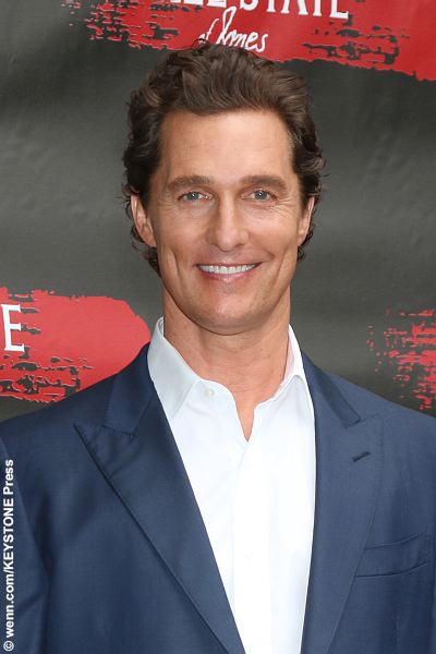 Matthew McConaughey at Free State Of Jones Photocall