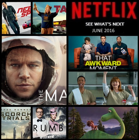 What's new on Netflix this June 2016
