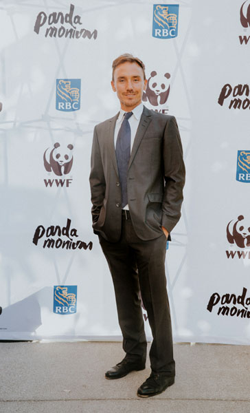 Rob Stewart at WWF Pandamonium