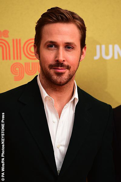 Ryan Gosling at The Nice Guys UK Premiere - London