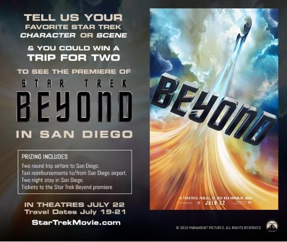 Star Trek Beyond contest poster