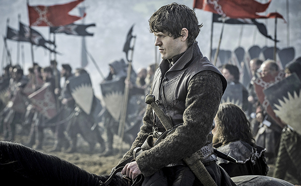 Ramsay Bolton leads his men into battle.