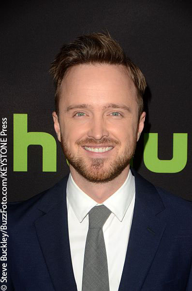 Aaron Paul on the red carpet
