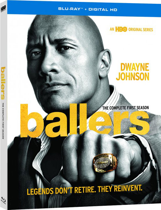 Ballers The Complete First Season Blu-ray