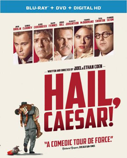 Hail, Caesar! Blu-ray Cover