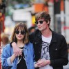 Dakota Johnson with her now ex-boyfriend Matthew Hitt