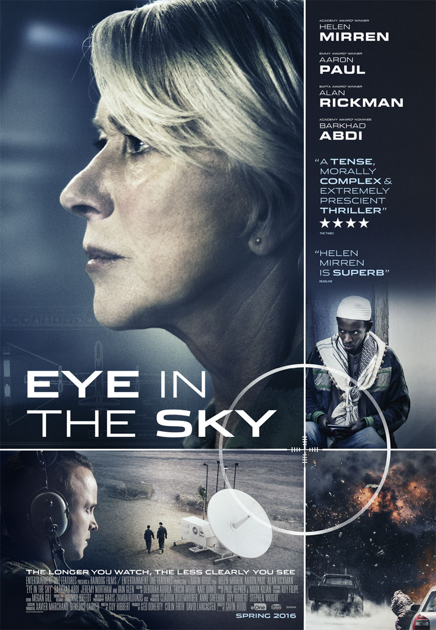 Helen Mirren stars in Eye in the Sky