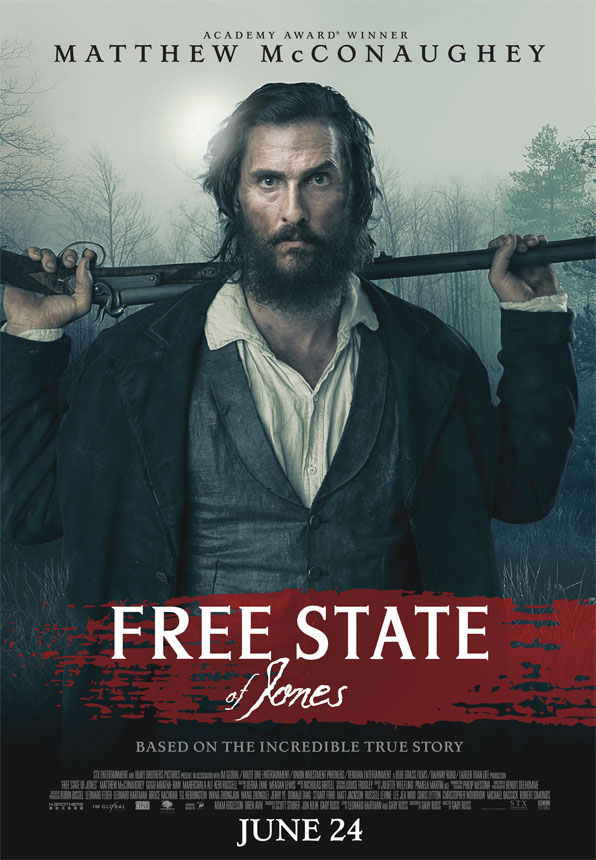 New Free State of Jones poster