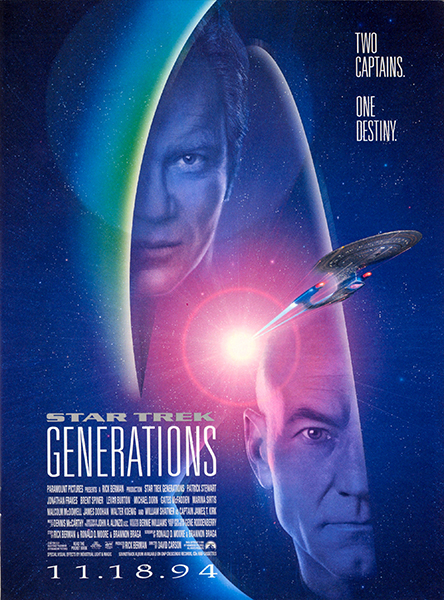 Star Trek: Generations Poster