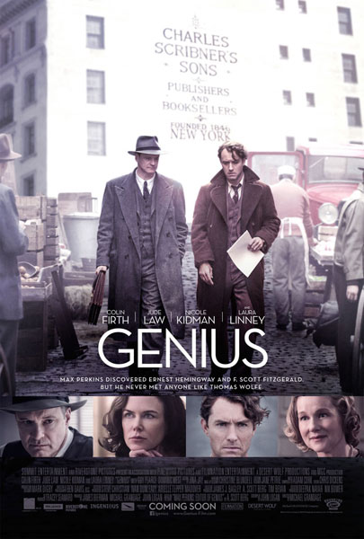 Genius starring Colin Firth and Jude Law