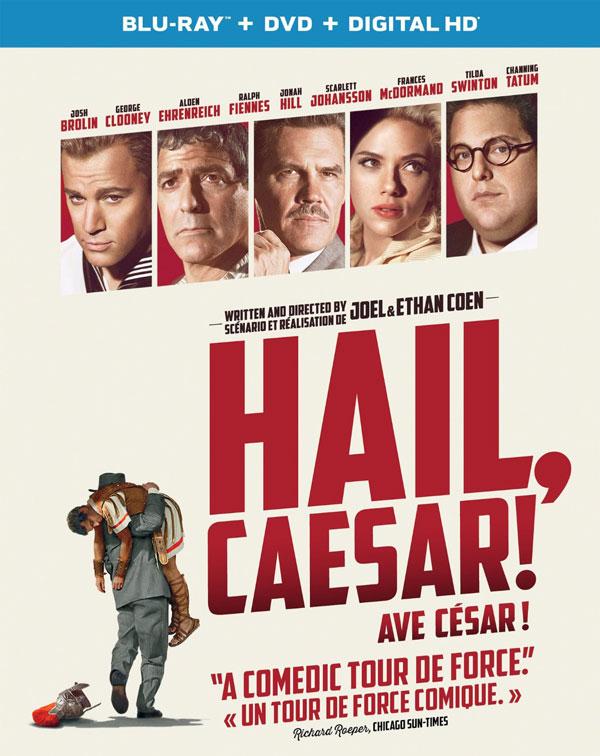 Hail, Caesar! Blu-ray and DVD