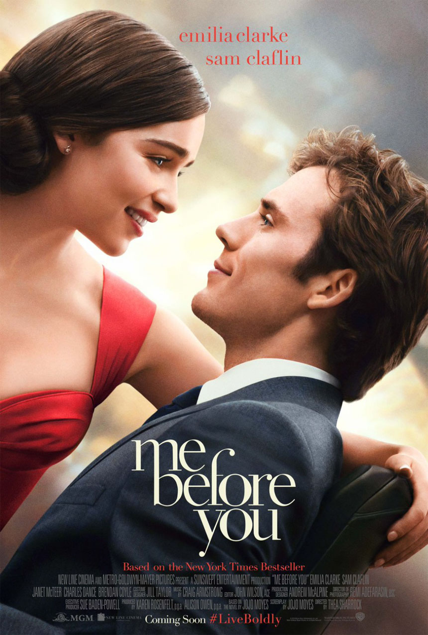 Me Before You stars Emilia Clarke and Sam Claflin