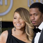 Nick Cannon with his estranged wife Mariah Carey.