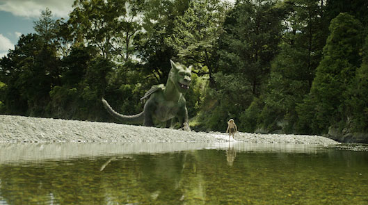 Elliot and Pete in Pete's Dragon