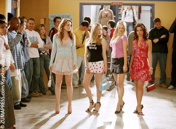 The Mean Girls cast