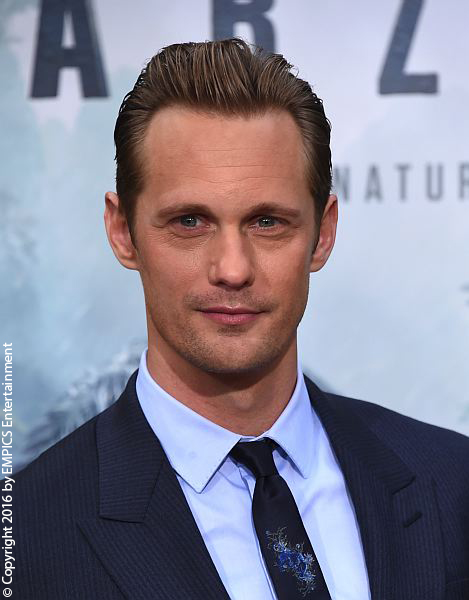 Alexander Skarsgard on the red carpet