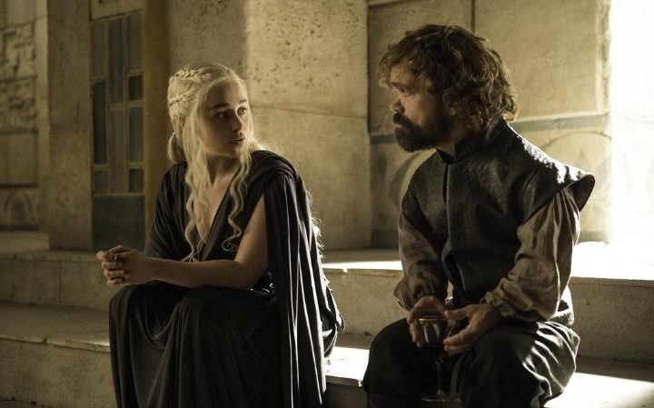 Tyrion counsels his Queen