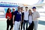 Zoe Saldana, Simon Pegg, Karl Urban, John Cho, Zachary Quinto, Sofia Boutella & Chris Pine