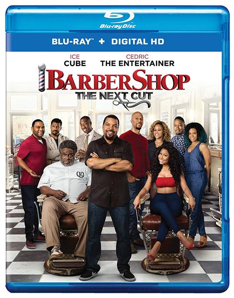 Barbershop:  The Next Cut Blu-ray