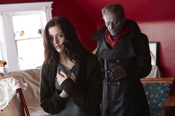 Katie Findlay and Stephen McHattie