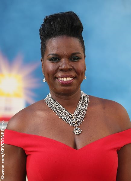 Leslie Jones at Ghostbusters premiere