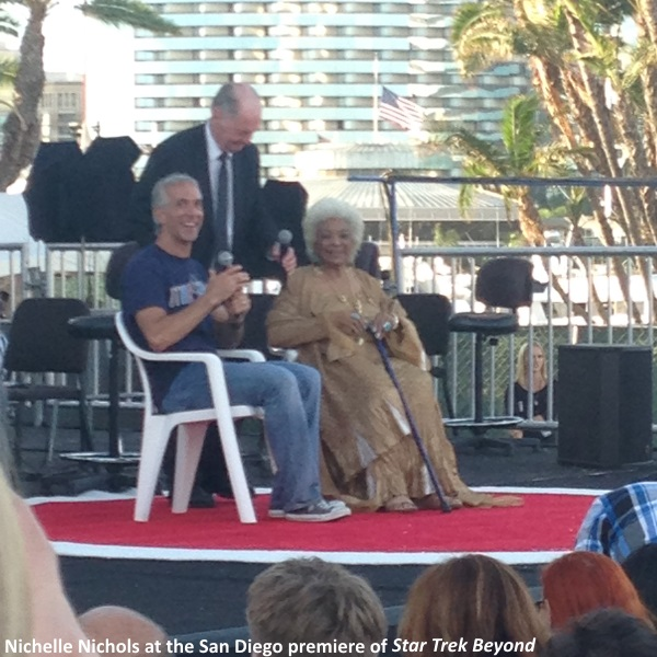 Nichelle Nichols at Star Trek Beyond premiere