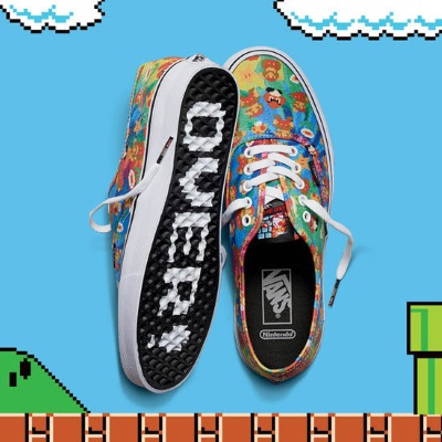 Nintendo partners with Vans