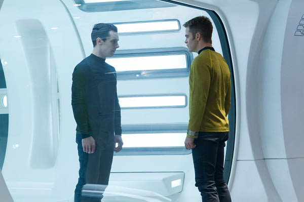 Khan and Kirk face off in Star Trek Into Darkness