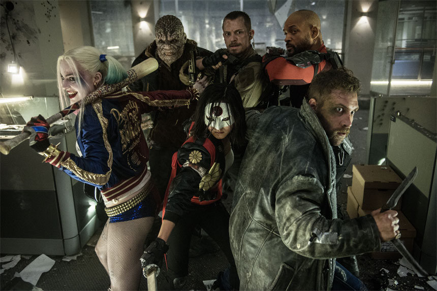 Suicide Squad group photo