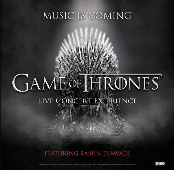 Game of Thrones Live Concert Experience poster