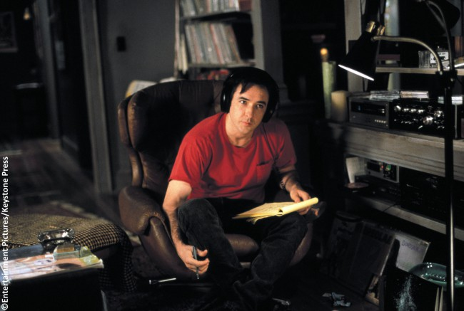 "Rob Gordon (John Cusack) – ""What came first? The music or the misery?"""