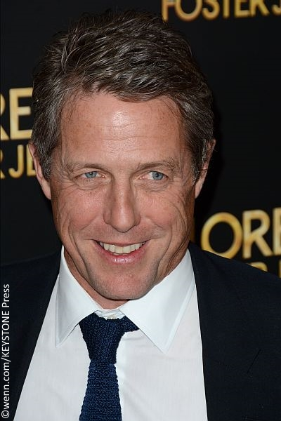 Hugh Grant at New York premiere for Florence Foster Jenkins