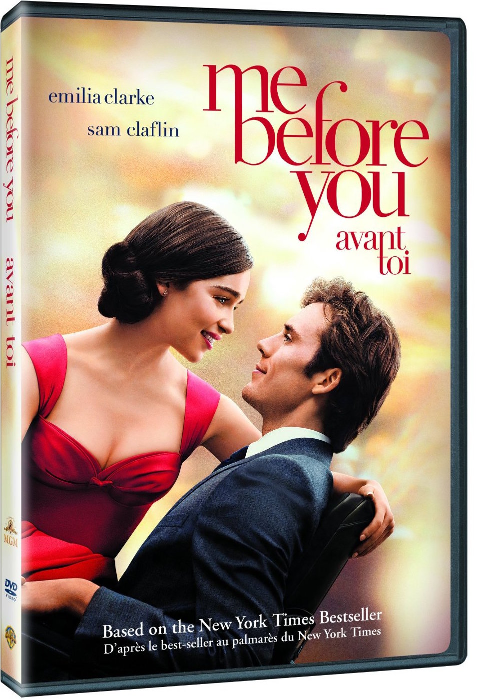 Me Before You DVD cover