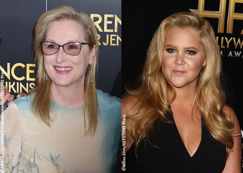Meryl Streep and Amy Schumer