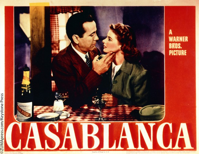 Rick Blaine (Humphrey Bogart) – As his old flame Ilsa (Ingrid Bergman) reluctantly boards a plane to Lisbon with her estranged husband, American expatriate Rick walks away from the tarmac with his new cohort, police chief Captain Renault (Claude Rains). As the two men stride side by side into the heavy fog, Rick says the […]