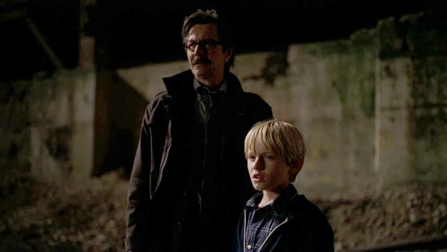 "Lt. James Gordon (Gary Oldman) – With the blood of ""Two-Face"" Harvey Dent falsely on his hands, Batman is now Gotham's Most Wanted. When Commissioner James Gordon's son (whom the Caped Crusader just heroically saved) asks, ""Why is he running, Dad? … He didn't do anything wrong."" Gordon, without missing a beat, replies, ""Because he's […]"