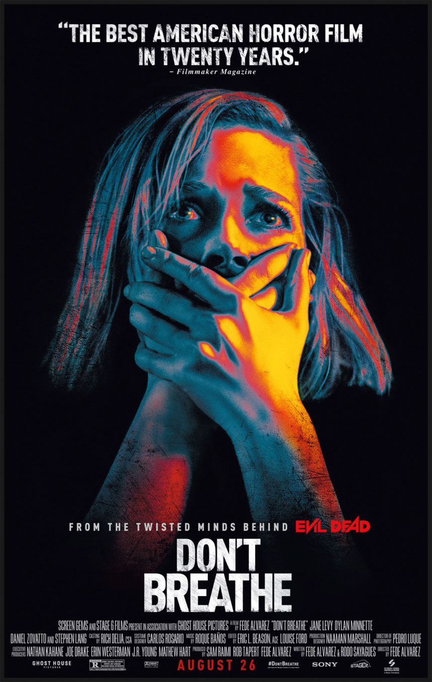 Don't Breathe wins for second time at weekend box office
