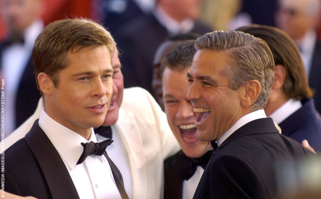 Both named Sexiest Man Alive by People in different years, actors George Clooney and Brad Pitt have been best friends for over a decade. After starring in the Ocean's 11 trilogy together, as well as Confessions of a Dangerous Mind and Burn After Reading, the Hollywood hunks now often bid against each other for the […]