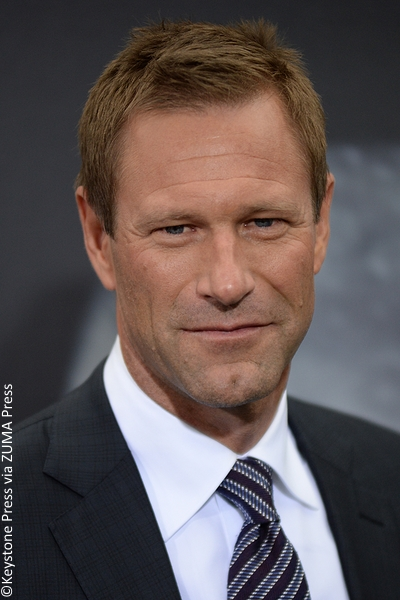 Aaron Eckhart at New York premiere of Sully